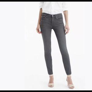 J. CREW | gray toothpick skinny jeans petite 25P